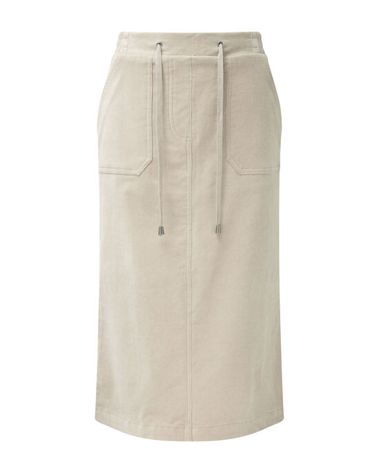 Tummy Control Cord Skirt