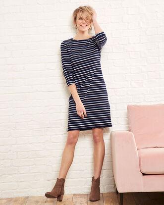 Wrinkle Free Stripe Dress