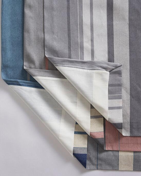 Striped Print Eyelet Curtains