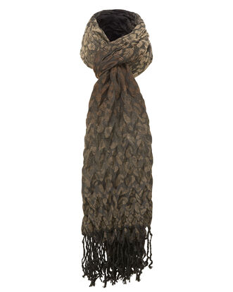 Pleated Crunchy Scarf