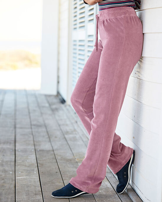Velour Pull-on Trousers