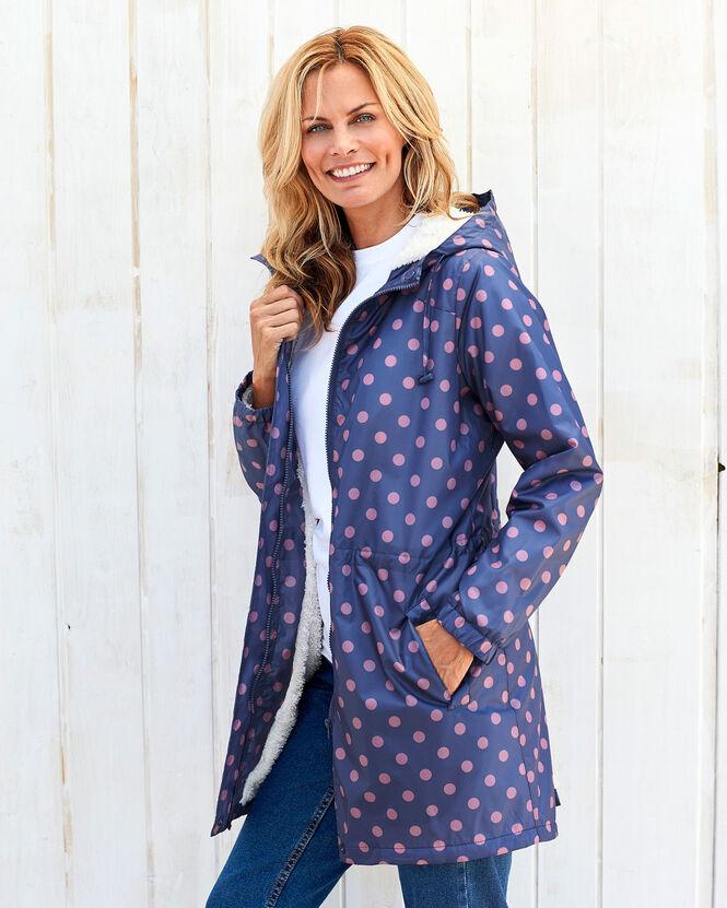 Women's Jackets for All Seasons | Fleece Lined Waterproof Parka | By Cotton Traders