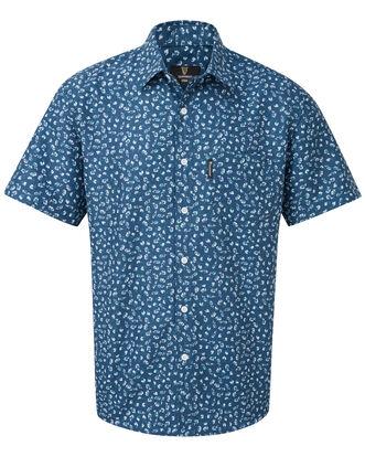 Guinness® Short Sleeve Soft Touch Ditsy Print Shirt