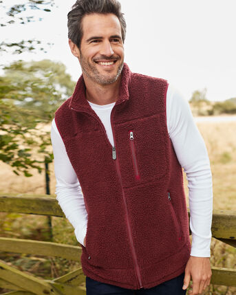 Sherpa Fleece Gilet