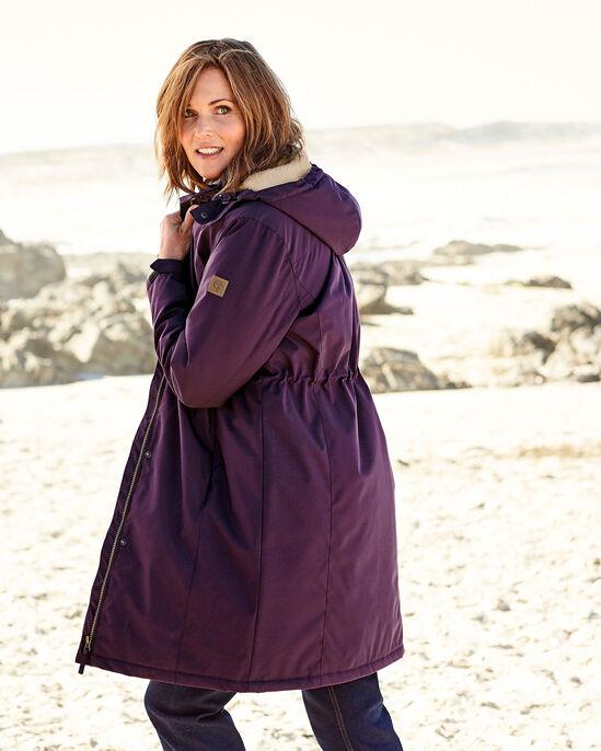 Showerproof Fleece Lined Coat