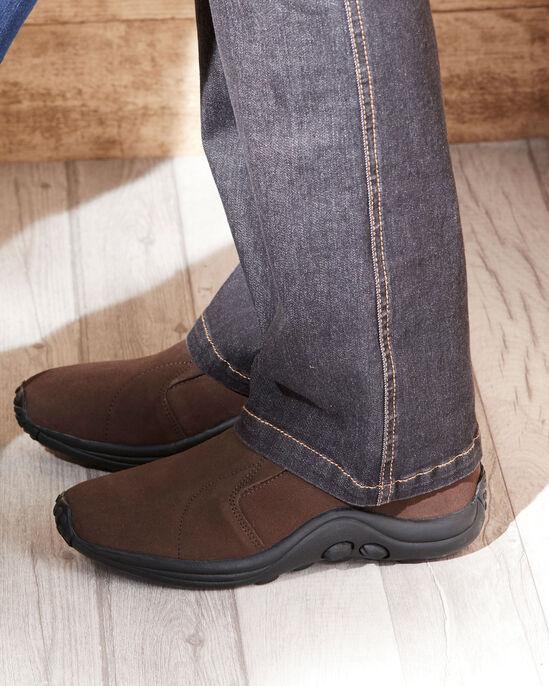 Men's Comfort Fit Suede Slip Ons