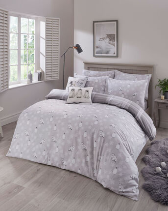 Wonderland Brushed Cotton Duvet Set