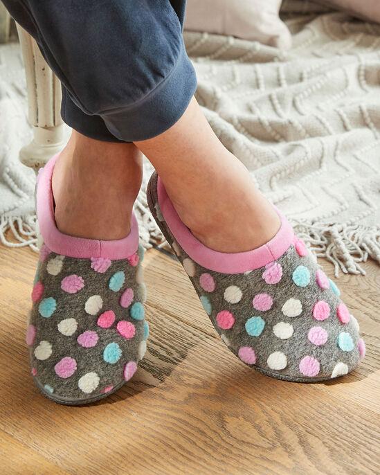 Spot Mule Slippers