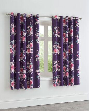Olivia Cotton Eyelet Curtains