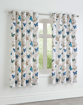 Butterfly Tale Eyelet Curtains