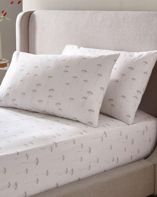 Grasmere Fitted Sheet and Pillowcase Set