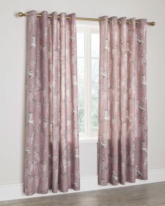 Wisteria Eyelet Curtains 66X72""