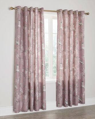 "Wisteria Eyelet Curtains 66X72"""