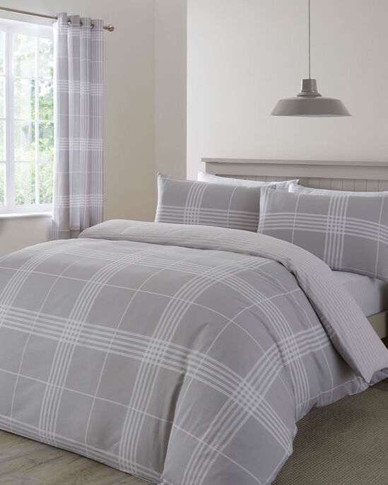 Clarke Check Duvet Set