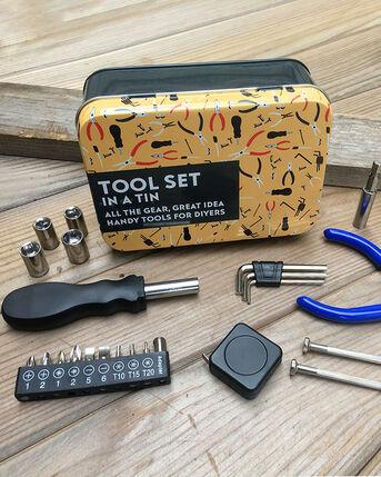 Tool Set in a Tin