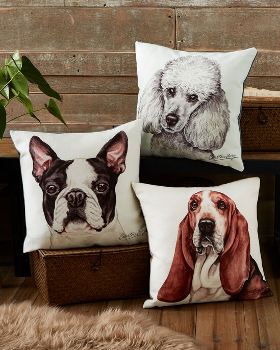 Waggy Dogz Basset Hound Cushion