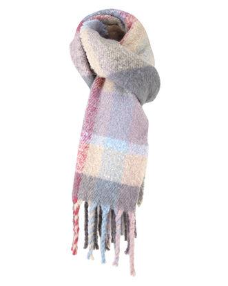 Brushed Check Blanket Scarf