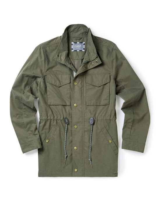 Lightweight Showerproof Cargo Jacket
