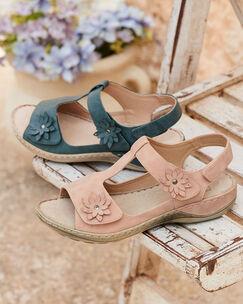 Comfort Adjustable Flower Sandals