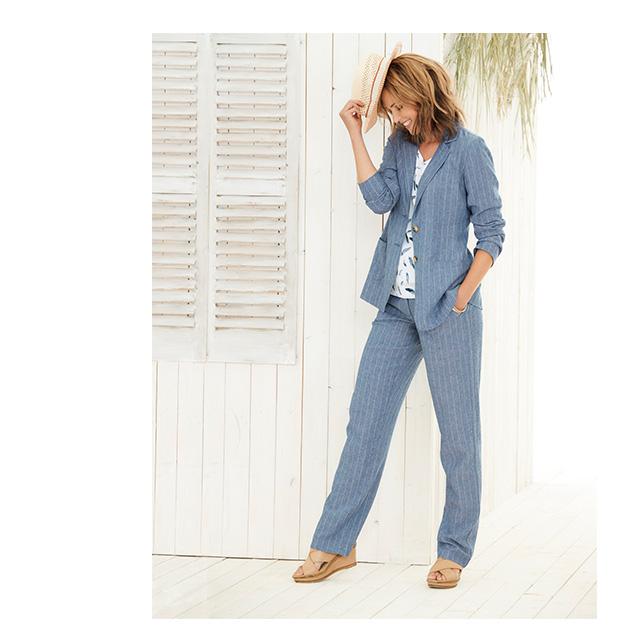 Linen-blend Jackets