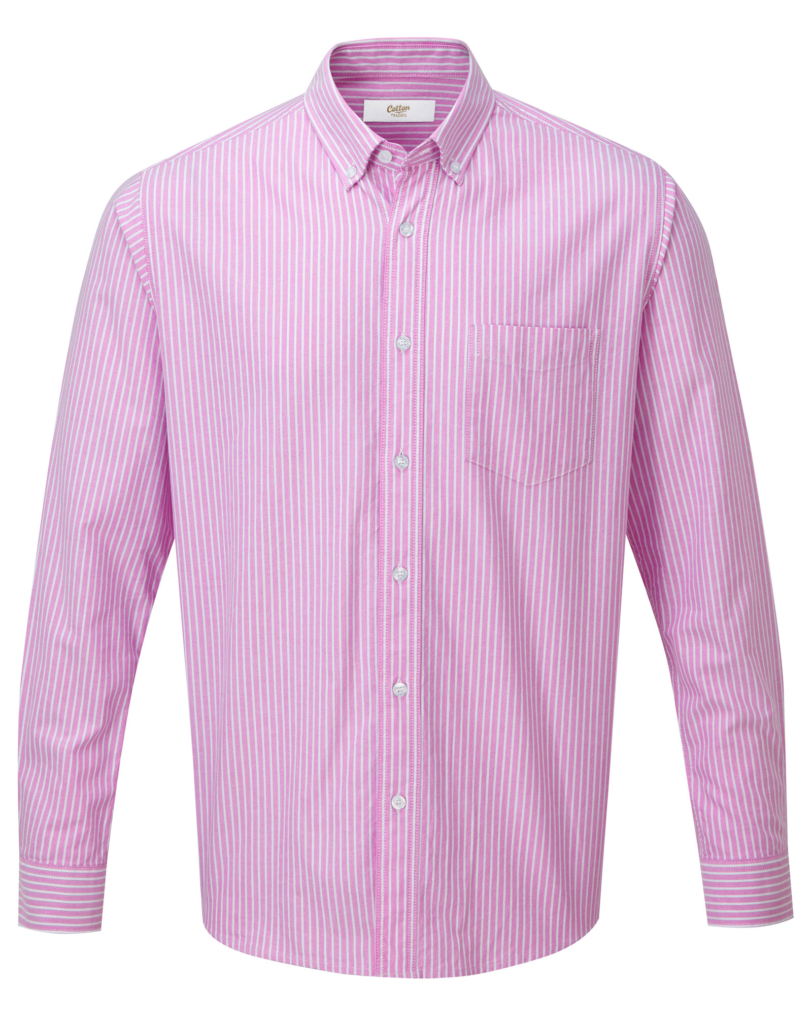 Cotton Traders Mens Long Sleeve Ultimate Shirt Casual Top