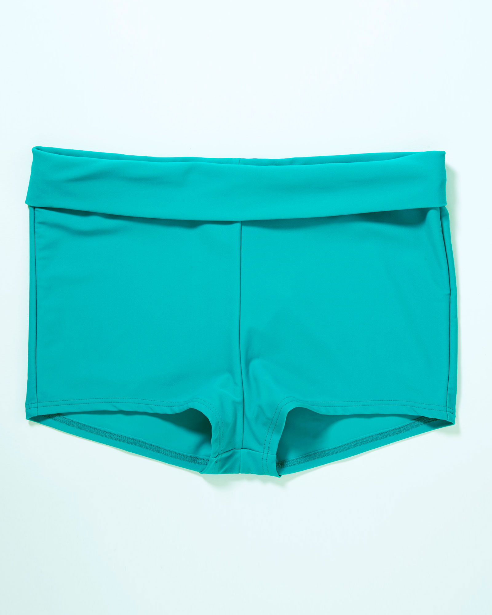 980fab6d67 Cotton Traders Women's Roll Top Tummy Control Short in Green (Clothing  Swimwear) photo